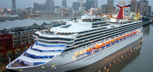 Carnival Cruises Leaving From Cruise Port Of New Orleans